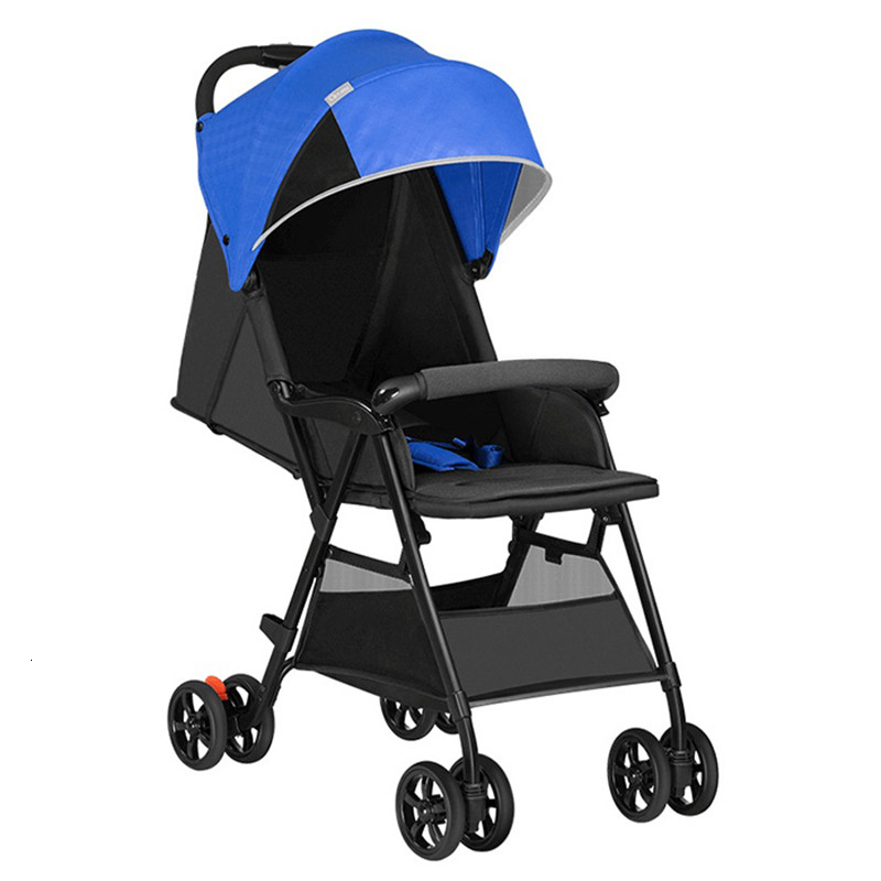 Youpin QBORN  Lightweight Folding Stroller Adjustable Angle Quick Wash 3 Stage Waterproof Canopy Universal Season Baby Stroller