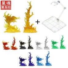 Tamashii – support avec effet de flamme brûlante et support, Kamen Rider, figurines d'action, scènes de feu, jouets, accessoires