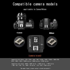 Image 2 - TRIOPO G2 2.4G Wireless Flash Trigger Receiver Suitable For TRIOPO TR 982III R1 G1800 TR 950II F1 200 Flash