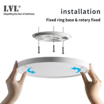 Modern LED Ceiling Light 12W 18W 24W 32W 220V 5000K Kitchen Bedroom Bathroom Lamps Ultrathin Ceiling Lamp 1