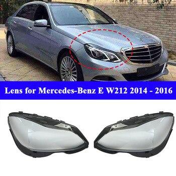 2x Lamp Cover For Benz w212 Front Headlights Glass Mask Transparent Shell Lamp Masks E200L E260L E280L E300 2014-2015 4769886123
