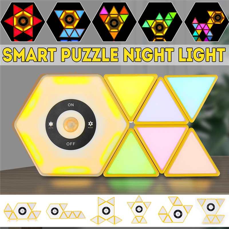 Chameleon Intelligent Building Block Light Toy Touch Sensor Color Changing Toy Lamp Gift Colorful Color Smart Light