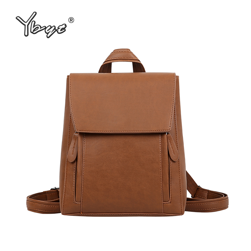 YBYT Brand 2018 New Women Preppy Style Smiple Small Backpack Hotsale Joker Shoulder Rucksack Ladies Fashion Shopping Travel Bags
