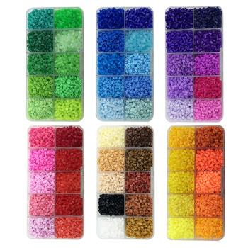 10 kolorów Perler PUPUKOU koraliki 2 6mm Mini koraliki do łączenia 4200 sztuk DIY zabawki Hama koraliki żelazne koraliki prezent wysokiej jakości tanie i dobre opinie Unisex 3 lat Spersonalizowane układanki cartoon Can t eat RW445