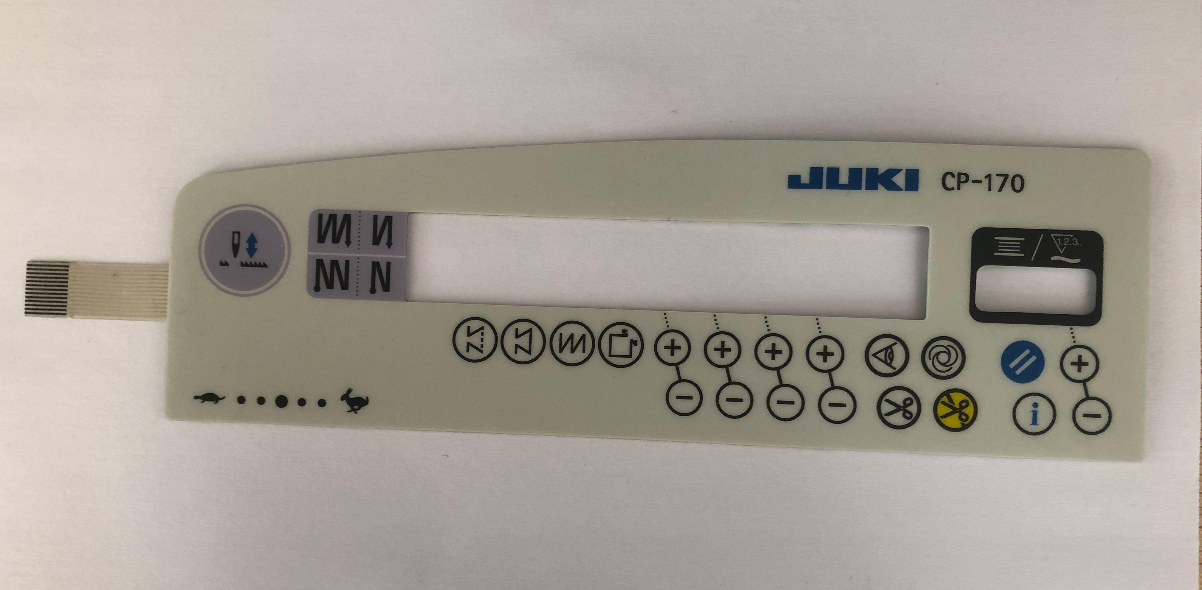 Промышленные детали швейной машины juki 8700 9000 Авто CP-170 управления блок управления панель бумажный стикер мембранный переключатель