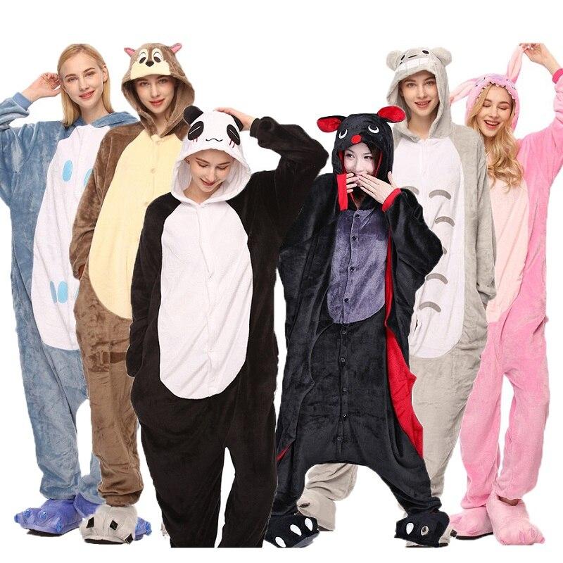 Kaguster Christmas Cartoon Costume Onesie Animal Pajamas Unisex Men/women Couple Thickening Cute Pajama Dinosaur Halloween Gift