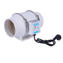 110V/ 220V Exhaust Fan Home Silent Inline Pipe Duct Fan Bathroom Extractor Ventilation Kitchen Toilet Wall Air Cleaning Grow Ten