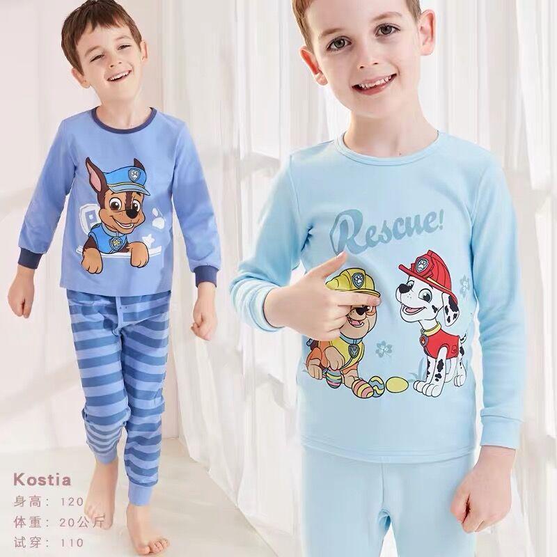2019 Echt Paw Patrol Pyjama Prinses Skye Chase MarshallBaby Cartoon Comfortabele Puur Katoen Kids Pluche Speelgoed Kinderen Gift