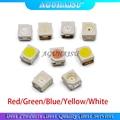 100 шт. супер яркий 3528 1210 SMD LED красный/зеленый/синий/желтый/белый/УФ/лед LED диод