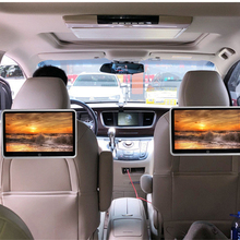 10.1 pollici Auto Poggiatesta Monitor Auto Multimedia MP4 MP5 Video Player TFT HD Display A CRISTALLI LIQUIDI Dello Schermo di Tocco di bluetooth/USB/FM Universale