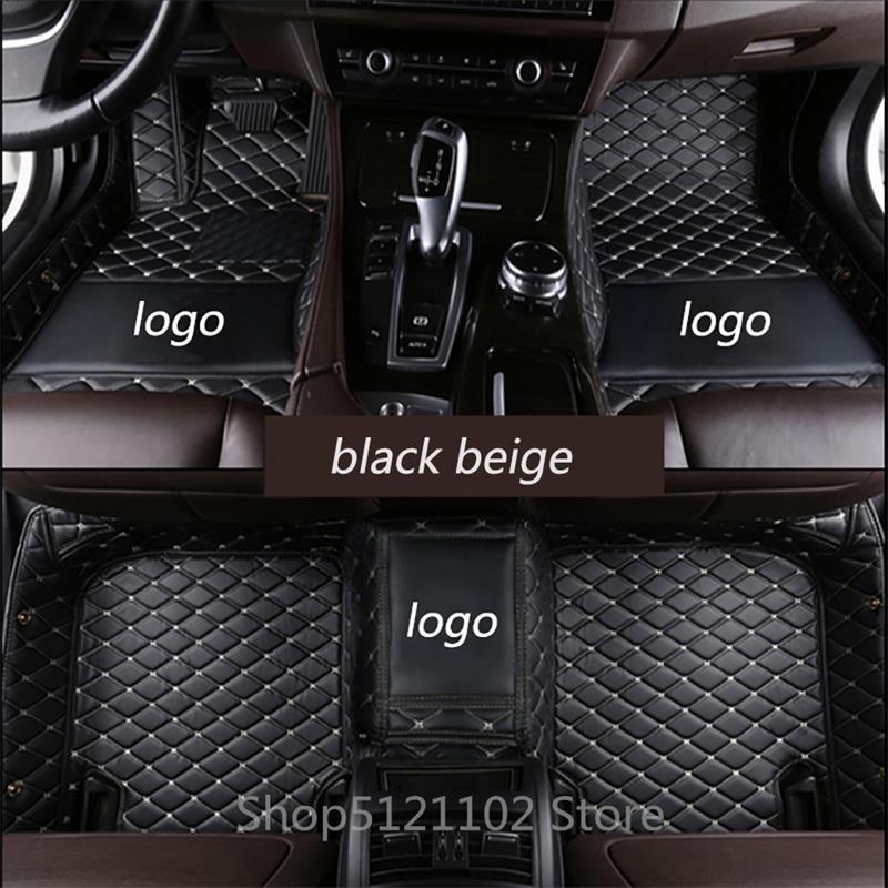 Car Floor Mats For Hyundai Santa Fe Azera,Elantra,Sonata,Tucson,ix35 2005-2019
