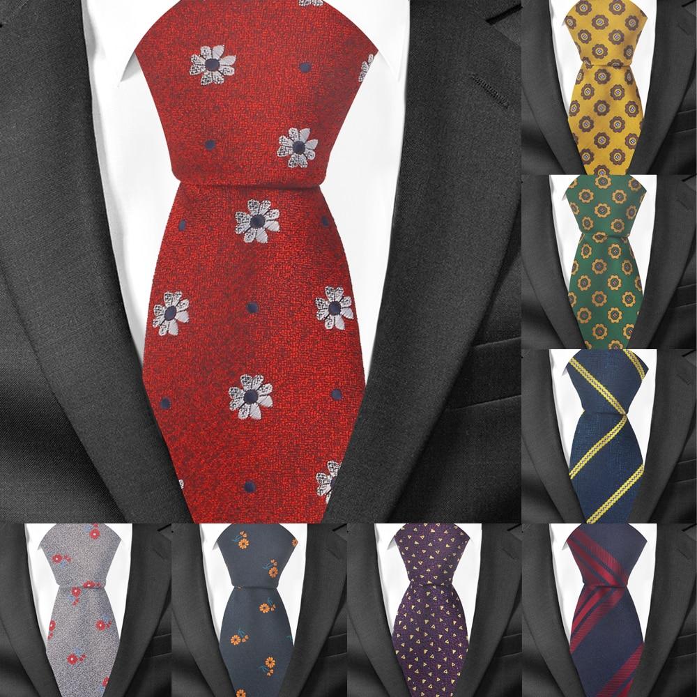 New Striped Tie For Men Polyester Classic Neck Tie For Wedding Business Suits Man Ties 1200 Needles Slim Necktie Adult Gravatas