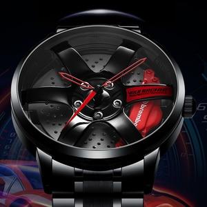 NIBOSI Wheel Rim Hub Watches M