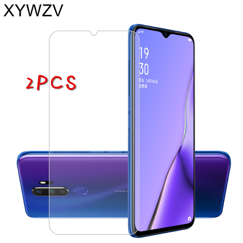 2Pcs For OPPO A9 2020 Glass For OPPO A9 2020 Tempered Glass Film HD 9H Hard Screen Protector Protective Glass For OPPO A9 2020