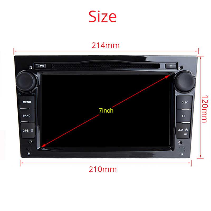 アンドロイド 9.0 カーラジオ 2 din DVD GPS Vauxhall オペルアストラ H グラム J ベクトラアンタラ Zafira Corsa Vivaro meriva でヴェーダ 2DIN マルチメディア