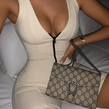 2021 Women Sexy Streetwear Sleeveless Bodycon Solid Knitted Fitness Sexy Jumpsuits Romper Playsuits Overalls Women 1