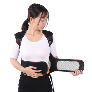 Image 5 - Турмалиновый самонагревающийся магнитный терапевтический пояс для поддержки талии, жилет для плеч, жилет, теплый жилет для лечения боли в спине