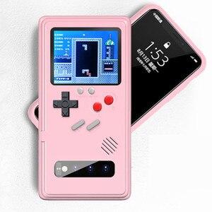 Image 2 - S20 Ultra S10 Hinweis 10 Plus Gameboy Retro 3D Fall Mit 36 Kleine Spiel Für Samsung Galaxy S20 S10 Hinweis 10 + S20 Pro Phone Coque