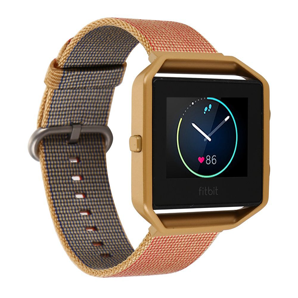 Sports Nylon Watch Band + Colorful Metal Frame 2 in 1 Watch Case For Fitbit Blaze Activity Tracker Smart Watch Band multi-colour | Watchbands