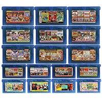 Carte de Console de cartouche de jeu vidéo 32 bits tout en 1 Compilation langue anglaise pour Nintendo GBA