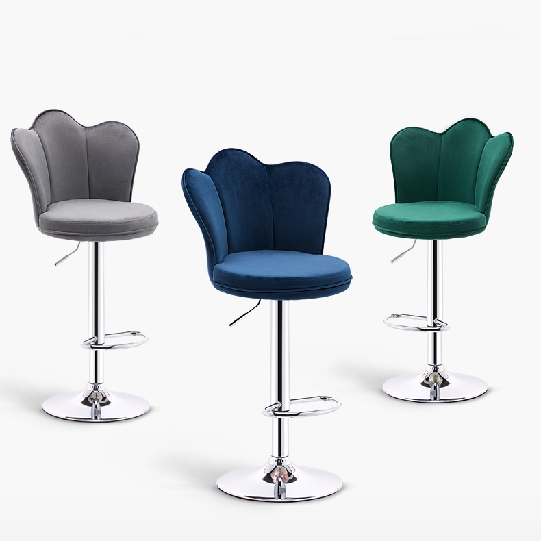 Nordic Furniture Bar Chair Lift High Bar Stool Home Bar Stool Modern Minimalist Front High Stool Commercial Furniture