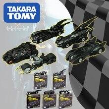 TarakaTomy Batman Alloy Toy Car Dark Knight Chariot Pocket Simulation Car Collector's Edition For Children Toy Gift