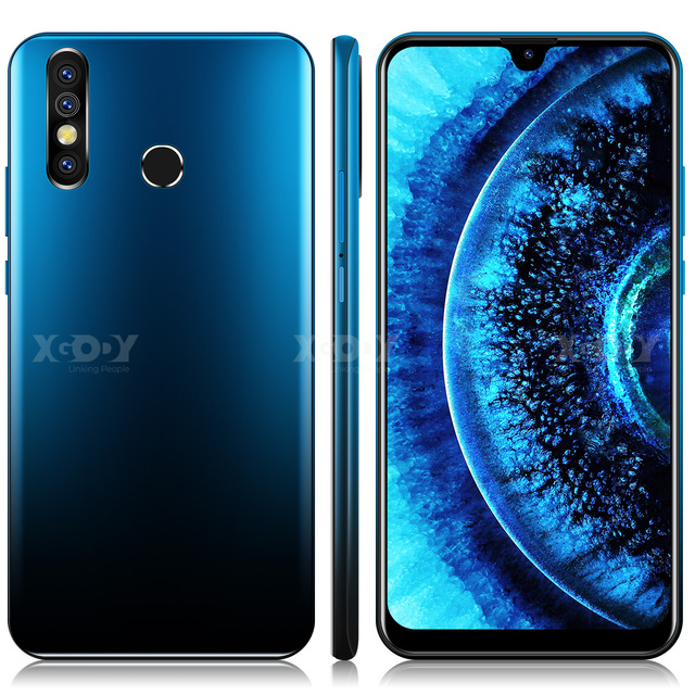 "XGODY A70s 3G Smartphone 7.2""  Android 9.0 1GB RAM 4GB ROM 5MP Camera Quad Core Dual SIM GPS WiFi Mobile Phones CellPhone 1"