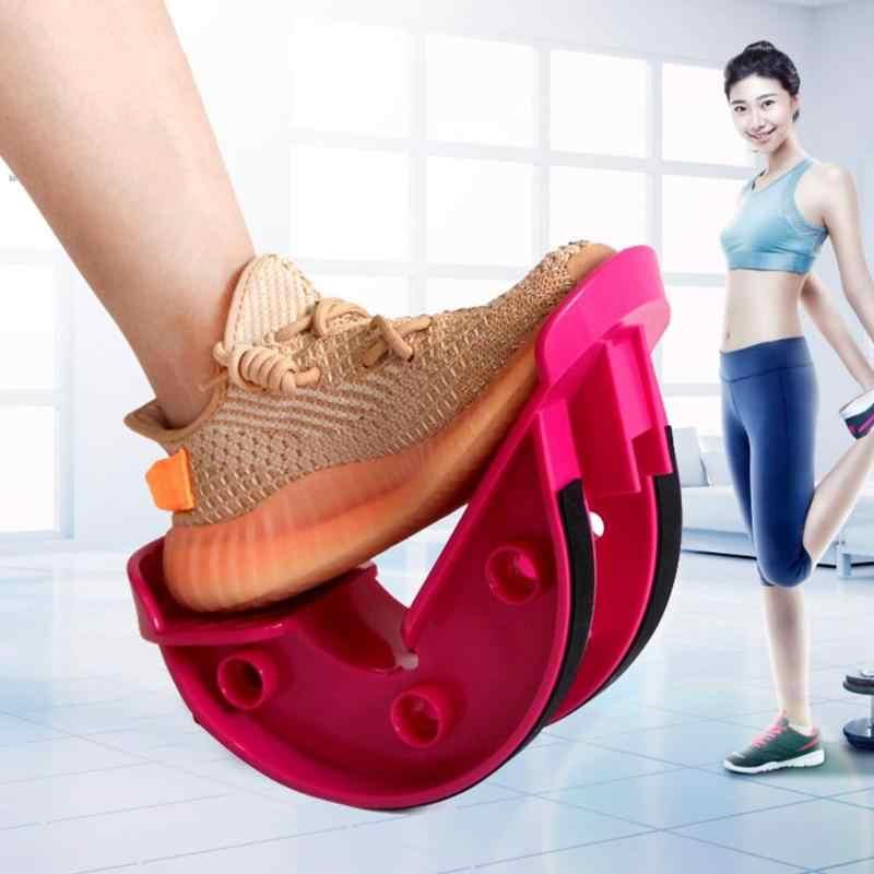 עמיד רגל נדנדה אלונקה קלאסי עדין רגל נדנדה עגל קרסול שרירים למתוח לוח יוגה כושר ספורט עיסוי דוושה