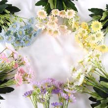 1Pc Artificial Daisy Flower Garden DIY Party Home Wedding Photograph Decoration  Vivid Color Decor Beautiful Non-fading