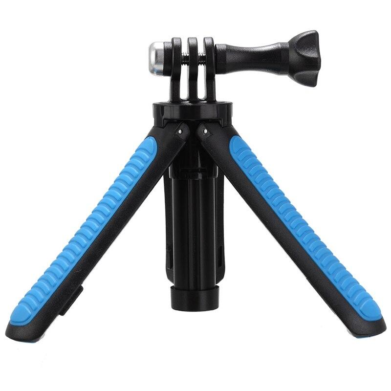 2 в 1 складной штатив выдвижная монопод Полюс рукоятка ручка Selfie-штатив для селфи палки для GoPro камеры аксессуары