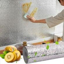 Маслостойкая Водонепроницаемая кухонная наклейка s самоклеющаяся огнеупорная Влагонепроницаемая наклейка с защитой от плесени для мебели кухонный гаджет