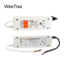 цены 5V Power Supply 12V LED Driver 5 Volt Power Adapter 12 Volt 60W 72W 100W AC 110V 220V to DC 5V 12V 8A 20A LED Strip Transformer