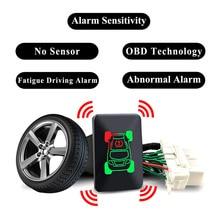 For Mitsubishi Outlander 3 2018 Eclipse Cross 2017 Car OBD TPMS 4 Tire Pressure Monitor Systems Tyre Security Alarm No Sensor