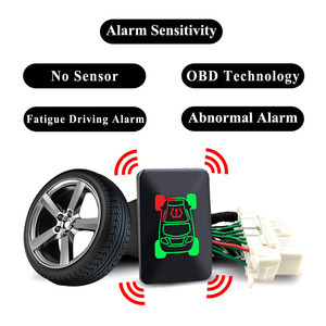 Image 1 - Pour Mitsubishi Outlander 3 2018 Eclipse Cross 2017 voiture OBD TPMS 4 systèmes de surveillance de la pression des pneus alarme de sécurité des pneus pas de capteur