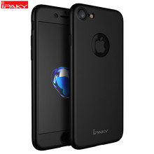 Untuk iPhone SE 2020 Case IPAKY Full Cover Case untuk iPhone 7 6 6S Plus Pelindung Full Body Cover untuk iPhone 8 8 Plus Case(China)