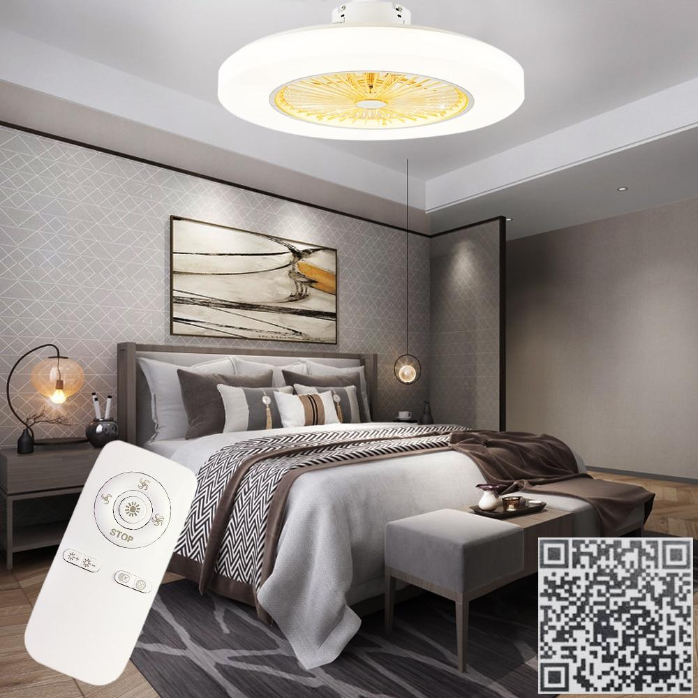 controle remoto silencioso ventilador de teto com 02