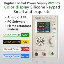 Converter Voltmeter Ammeter Power-Supply Laboratory WZ5005 Dc Dc 5A CC 50V CV Regulated
