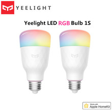 2020 Yeelight Led Lamp 1S 8.5W Rbgw AC100 240V E27 800lm Lumen Smart Wifi Gloeilampen Apple Homekit Remote controle