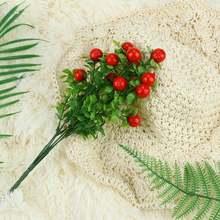 Имитация зеленого растения Цветочный горшок культуры Противоударная