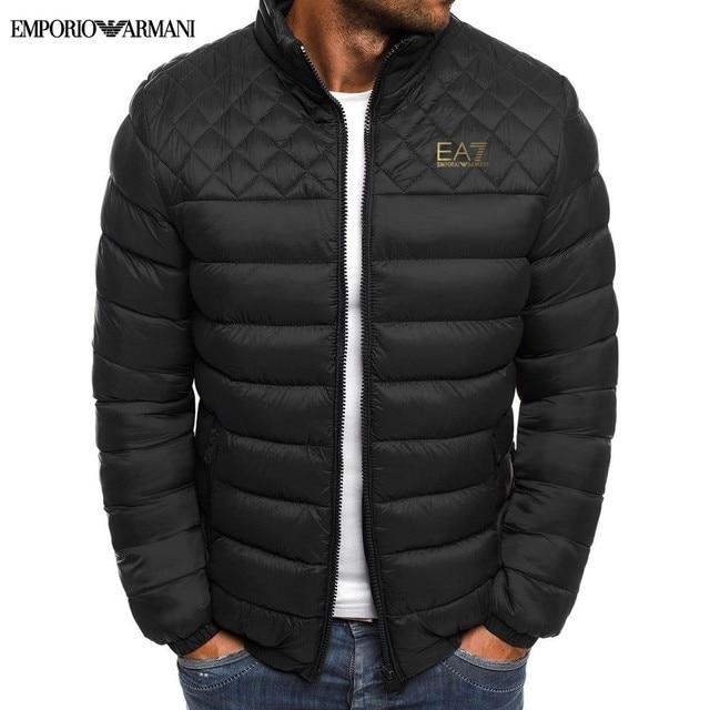 Armani Brand Men Sweatshirts 2020 Loose printing Hoodie Male Autumn Fashion High quality Streetwear Men Autumn winter