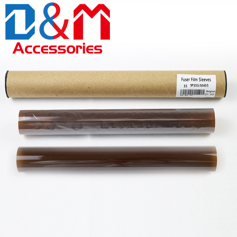 2Pcs Fuser film sleeve 126K30919 126K35550 126K35551 for <font><b>Xerox</b></font> P455D M455DF P355D M355D 3610N WC3615DN <font><b>3655</b></font> Fuser fixing film image