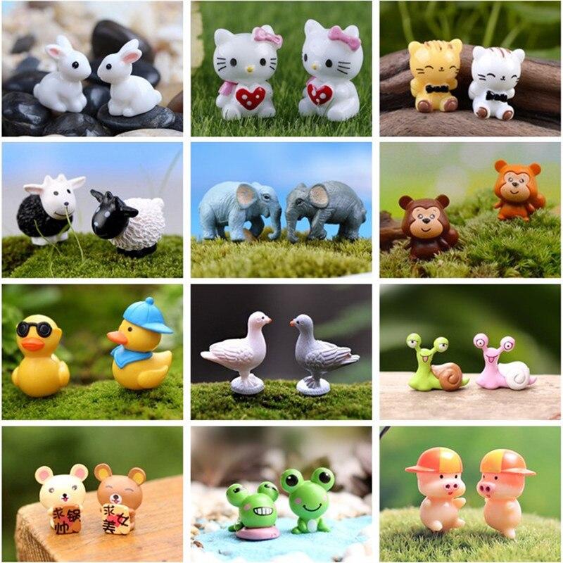 1pc cute Pigs Miniature Figurine Fairy Gardens Dollhouse Decors Micro Landsca HF