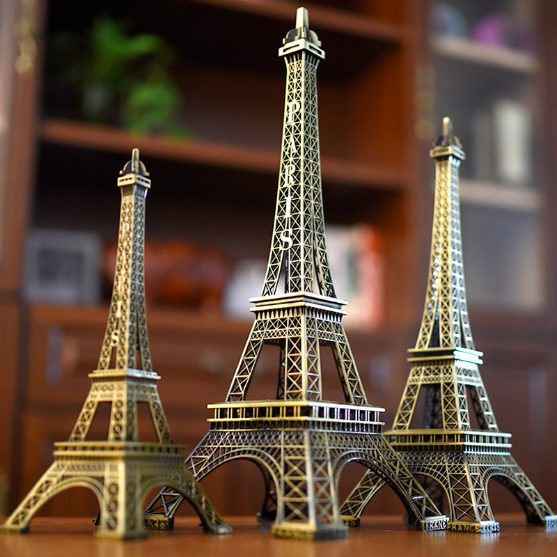 Eiffel Tower Decoration Model Home Room Living Room Creative Decoration Birthday Gift Paris Small Crafts Modern Fortnite