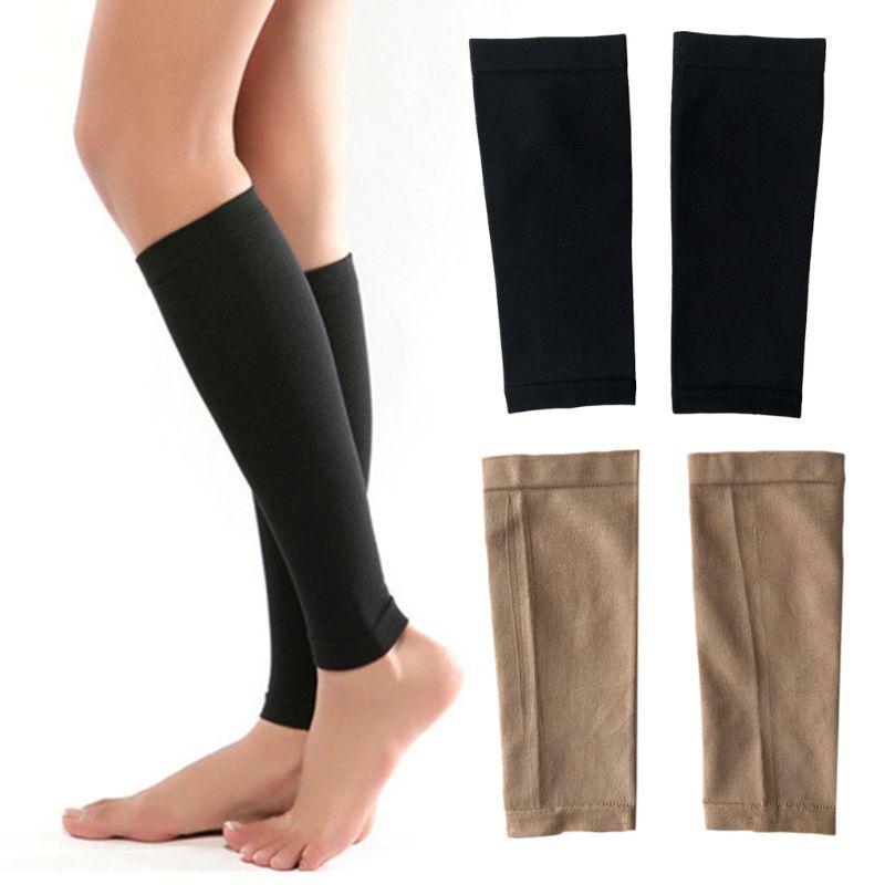 1 Pair Women Unisex Leg Calf Sleeve 680D Compression Varicose Vein Circulation Medical Elastic Socks Relieve Pain Thin Stockings