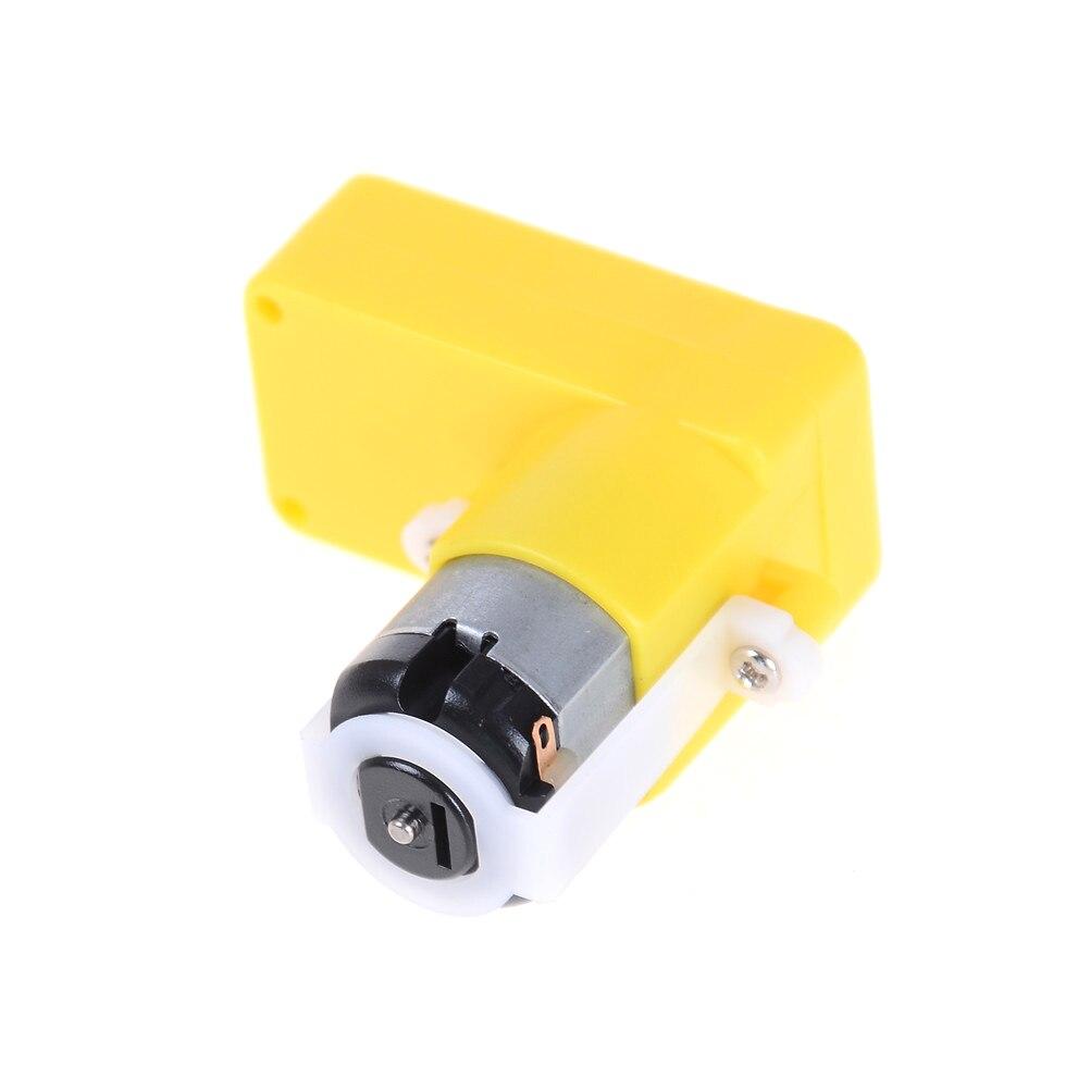 Un Pezzo TT Motore/Decelerazione Del Motore/Cambio/DC Motoriduttore per Robot Giocattolo Auto 6V Curva di Monoassiale Gear