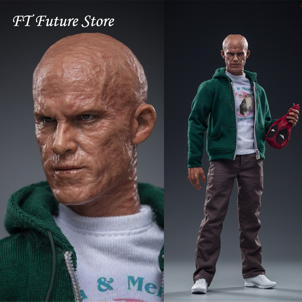 FS025 1/6 Scale Full Set Male Figure Deadpool Wilsons In Casual Costume 12''  Action Figure Cosplay Dolls Hobby Gift For Fans