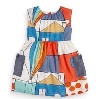 Little maven/Новинка 2020 г.; летняя одежда для маленьких девочек; Брендовое платье для детей; хлопковые платья с короткими рукавами и цветным принт...