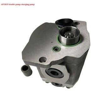 Booster pump Gear pump for AP2D25 pilot pump for excavator Daewoo 55/60