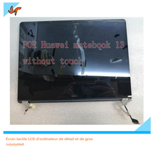 New original 13 inch laptop IPS display screen 2160x1440 resolution for Huawei MateBook 13 WRT W29 WRT W19 display replacement