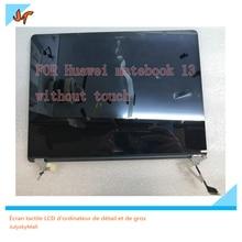 Original nuevo portátil de 13 pulgadas pantalla IPS pantalla 2160x1440 de resolución para Huawei MateBook 13 WRT W29 WRT W19 display replacement